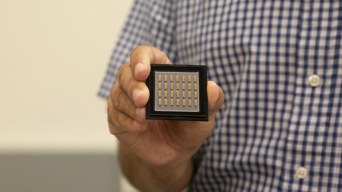 Zeinolabedinzadeh's research focuses on microchip advances